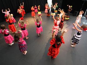 Baile des enfants 2014