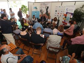 Conférence de presse Antonio Rey en 2014