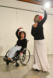 Démonstration de danse de l&aposassociation