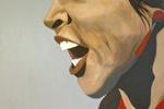 Mathieu Sodore : Acrylique sur toile - Tango (Aurora Vargas) de 2009