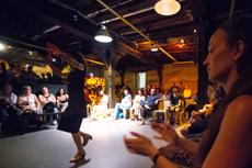 Scène ouverte Arte Flamenco au caféMusic&apos en 2019 © S. Zambon